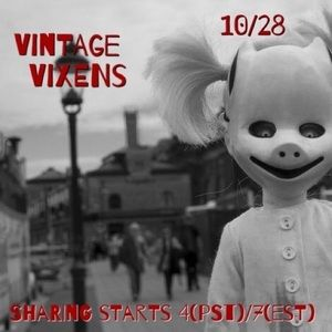 Accessories - WEDNESDAY 10/28 Vintage Vixens Sign Up Sheet